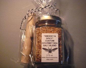 Smokey & Spicy Custom Gourmet Culinary Salt