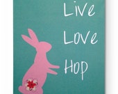 Notebook - Live love hop