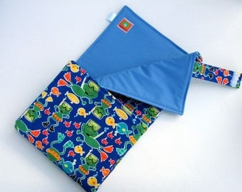 READY-TO-SHIP Baby Boy Frog Waterproof Changing Pad