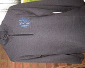 Embroidered 1/4 Zip Ladies Sweatshirt --  Let us create one for you-- FREE monogram and gift wrap.