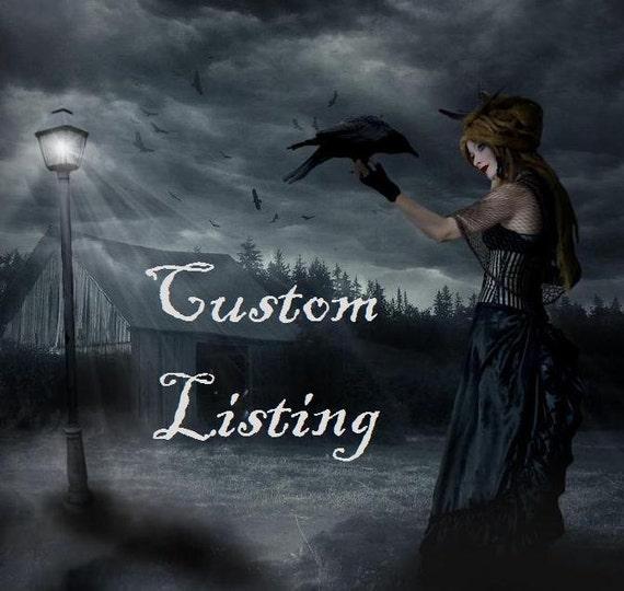 CUSTOM LISTING - Pyrite Sideways Cross Irish Waxed Linen Bracelets
