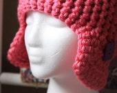Helmet in Pink - Easy Fast Crochet Pattern