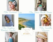 Instant Download 6 Pattern e-book-The Summerland Collection