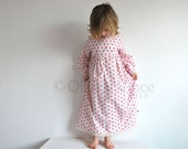 Girls vintage nightie flower fairies angel spring easter traditional english toddler cath kidston girl pretty pink floral dress