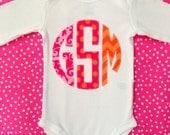 Custom Monogram Bodysuit Girl