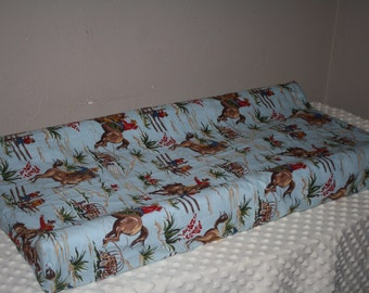 Changing Pad Cover - Barn Dandy Cowboy Contour Changing Pad Cover