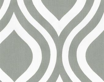 Nursing Pillow Cover - Gray Raindrop and Minky Boppy Cover - Modern, Geometric