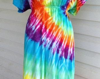 plus size tie dyed dresses - fashion dresses