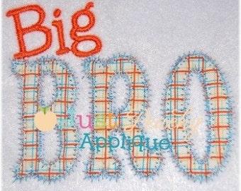 Big Bro Machine Embroidery Applique Design