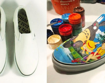 30% off Blank canvas slip ons for DIY, Euro size 37 - 43, not include painting.