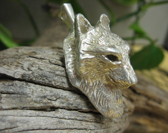 Wolf Pendant Silver