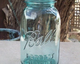 Blue Ball Perfect Mason Canning Jar Quart Size