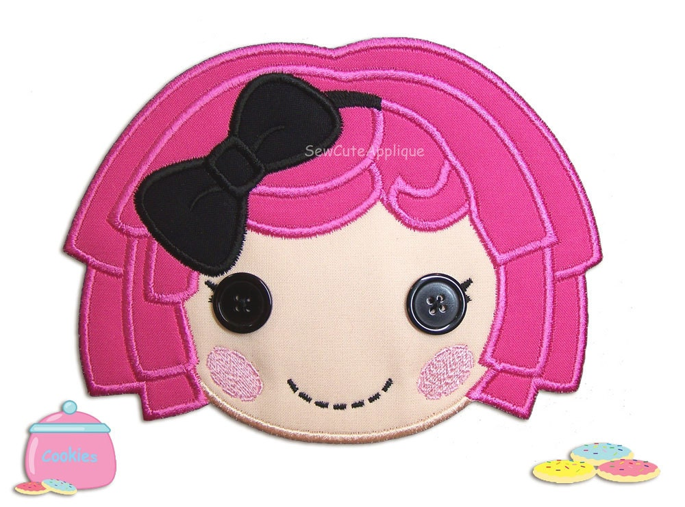 Crumbs Sugar Cookie Wig Crumbs Sugar Cookie Lalaloopsy