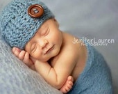 Incredible Baby Boy Hat Newborn Boy Gift Infant Hat for First Photos Basketweave Motif Ready