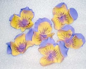 Gumpaste Pansies (Pansy) Cake Toppers, Cupcake Toppers, Weddings, Bridal Shower Cakes, Birthday Cakes