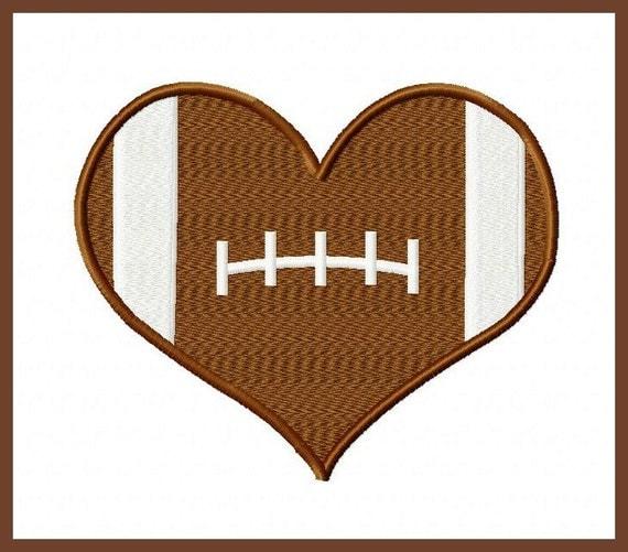 football heart clipart - photo #8