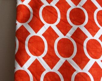 Sydney in Tangelo Slub Home Decor Weight Fabric from Premier Prints - ONE YARD Cut