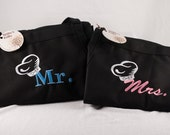Personalized His & Hers Aprons