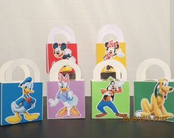 Mickey Mouse Club House Favor/treat Bags (Set of 12)