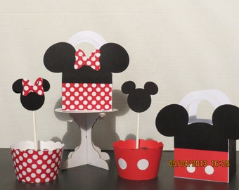 Mickey & Minnie Mouse Party Pack (Set of 12)