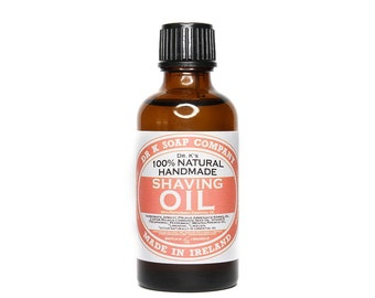 All Natural Shaving Oil Shave Oil Preshave Oil 50ml 1.7oz SHAO