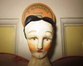 Nostalgic Folk Art,Carol Roll, Primitive Angel