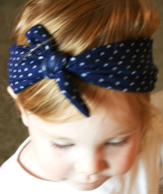 Memorial Day Sale Nautical Knot Baby Headband By Wildjuniper