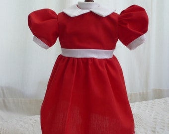 Little Orphan Annie Dress for American Girl Doll