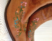 Upcycled Brazilian Leather Boots