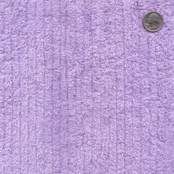 56 10oz lilac cotton chenille fabric 13 yards wholesale for Wholesale baby fabric