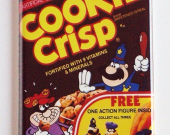 Cookie Crisp Cereal Box Fridge Magnet