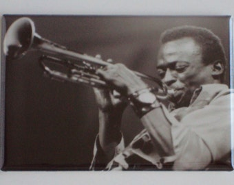 Miles Davis Fridge Magnet