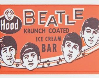 Beatles Ice Cream Sign Fridge Magnet
