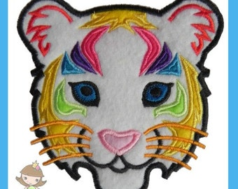 Tiger Applique design