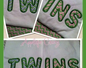 Twins Applique design