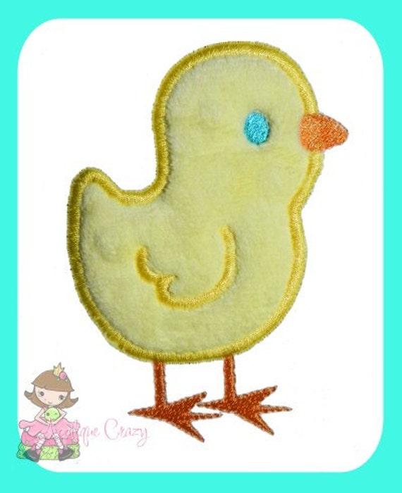 Baby Chick Applique design