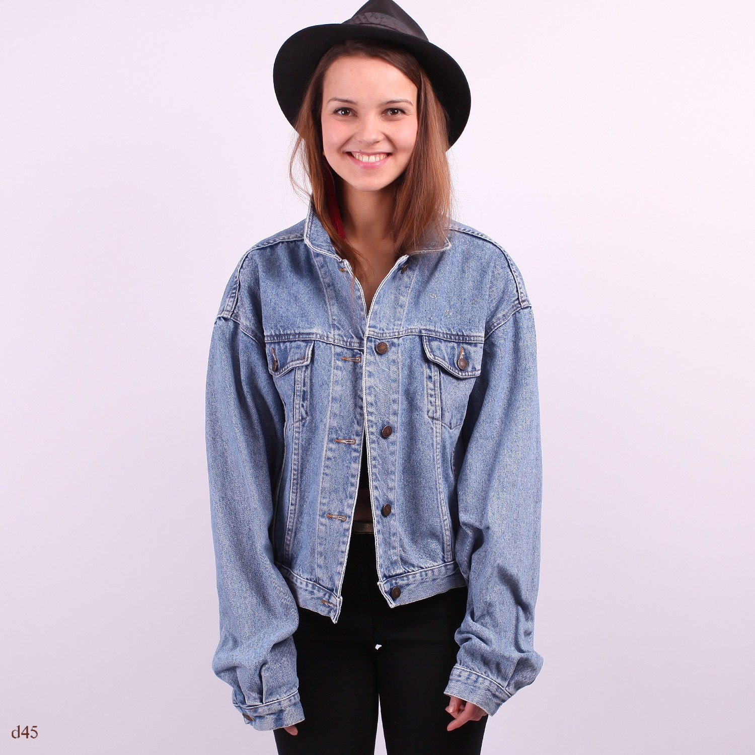 Large Denim Jacket - JacketIn