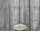 2ft x 2ft Vinyl Photography Backdrop for Children, newborn babies, toddlers... Weathered Black And White Wood