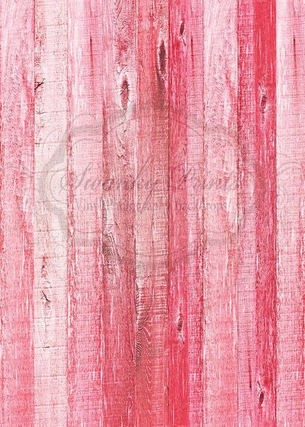 5ft X 6ft Vinyl Photography Backdrops Pink Washed Wood