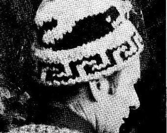 Cowichan White Buffalo Wool Hat Toque KNITTING Pattern Whale Design Hat Pattern Digital Pattern Instant Download