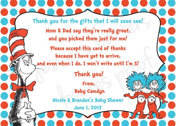 back gallery for baby shower thank you notes wording