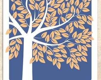 MODERN KEEPSAKE, Wedding Tree - Personalized Print - Wedding Guest Book - 155 Guest Sign In - 16x20 by Sugar Vine Art, 130