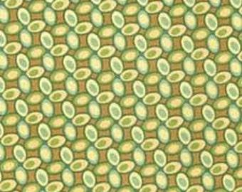 Fresh Cut Jelly Bean fabric in Green (1 yard) by Heather Bailey for FreeSpirit fabrics