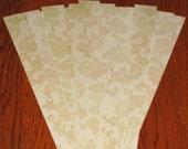 22 precut paper strips