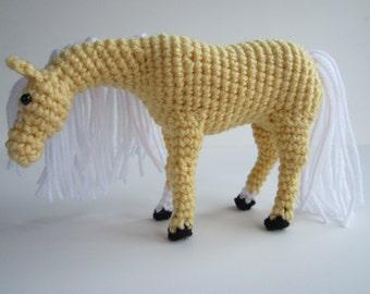 Crochet horse Etsy