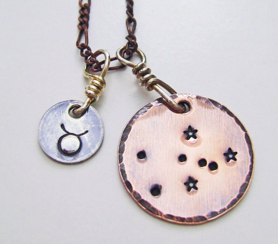 Taurus Constellation Necklace: Unavailable Listing On Etsy