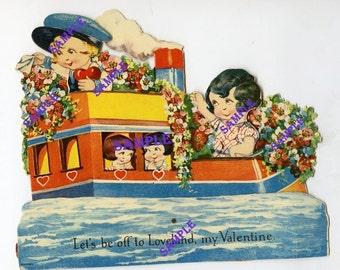 Digital Download-Off to Loveland Vintage Valentine