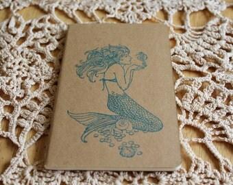 Mini Mermaid Ocean Gift  Journal