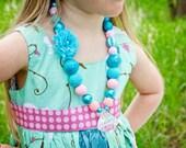 DIY Chunky Necklace Kit - Mermaid