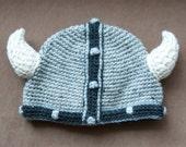 Gray Viking Helm
